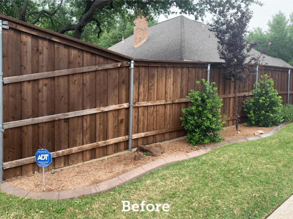 Before following the steps for how to stain a fence